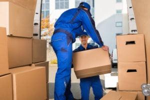 hiring a moving company